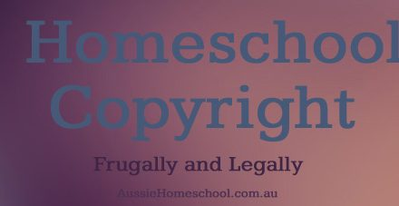 Homeschool Copyright