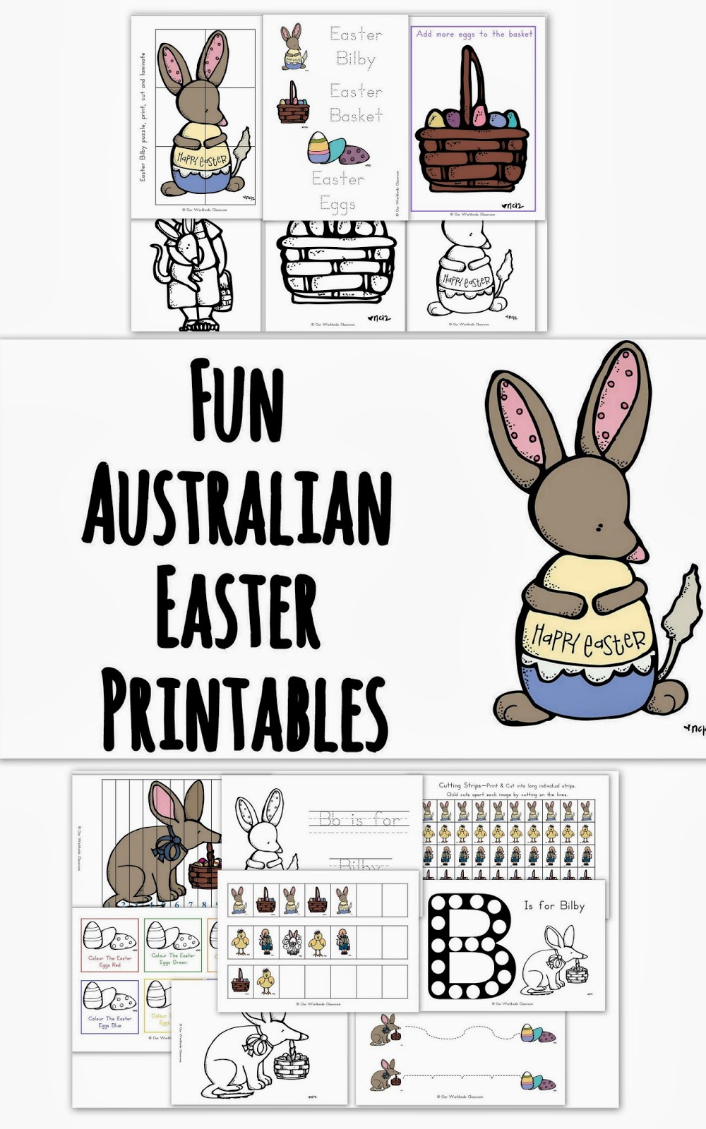 Blog Banner Easter Printables