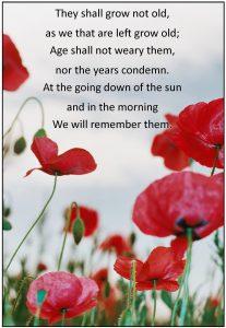 For the Fallen an Ode