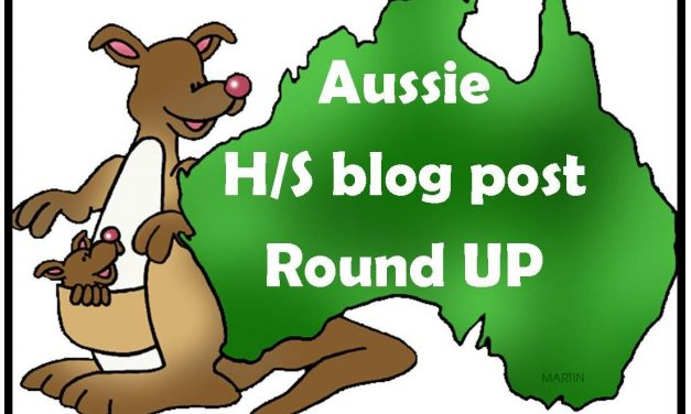 Aussie Homeschool Blog Post Round Up